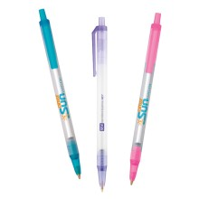 BIC Clic Stic Clear Colors